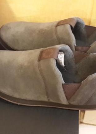 Ugg оригинал usa 42 ст.27 см новые   кожаные туфли