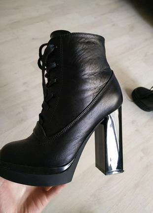Очень классные демисезонные ботинки