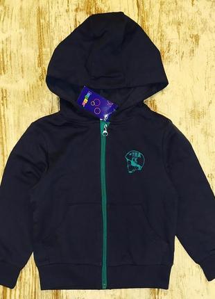 Спортивная кофта на 2-4 года германия капюшон толстовка куртка