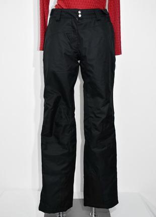 Женские  черные лыжные штаны тсм. код 2828