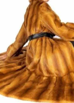 Натуральная фабричная норковая шуба