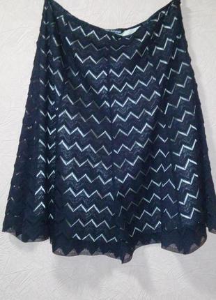 Новая кружевная юбка годе от marks & spencer