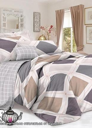 Комплект двухспального постельного белья, сатин люкс