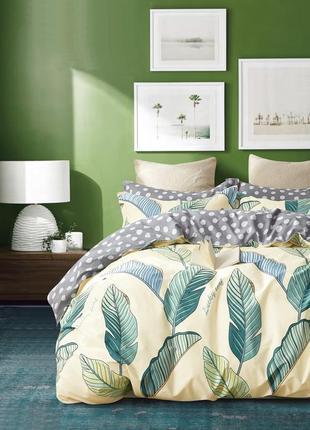 Дизайнерское сатиновое постельное белье премиум серия, евро размер 210