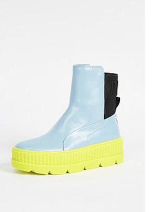Очень крутые высокие ботинки сапоги puma fenty by rihanna