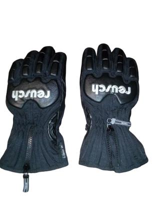 Reusch теплые перчатки c защитой лыжные зимние горнолыжные