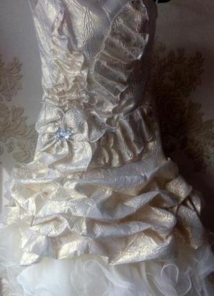 Платье для выпускного. бальное платье.