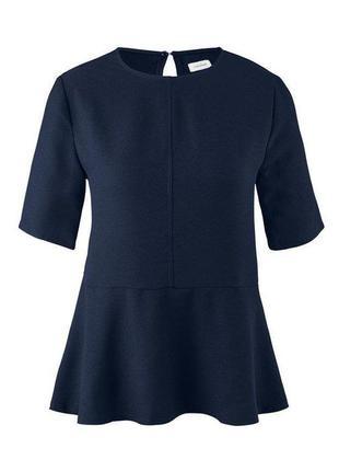 Блуза с воланом tchibo