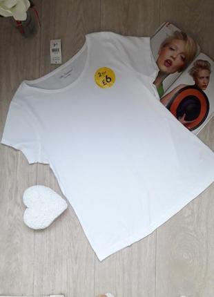 Белоснежная футболка размер ххл george