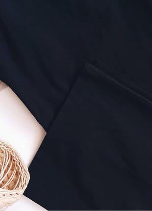Чорні кюлоти з високою талією від jenyffer. чорні класичні штани з високою талією.