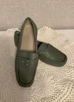 Шикарные мокасины туфли р.37,5-38