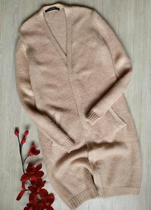Кардиган / свитер / кофта / накидка hallhuber (в составе шерсть, мохер)