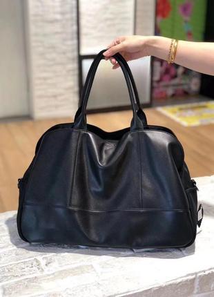 Кожаная сумка для отдыха,ручная кладь