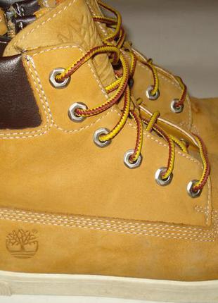 Ботинки кеды timberland, кожа, р-р 38, 23,5 см.