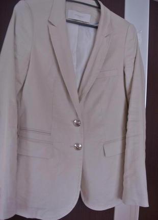 Льняной пиджак reserved