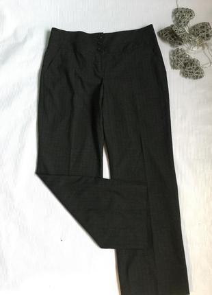 Стильные брюки в полоску next