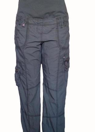 Стильные брюки из хлопка next для беременных, шесть карманов