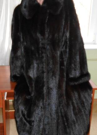 Норкова шуба норковая шубка 50-54 розмір