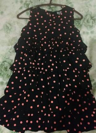 Детское платье в рюши