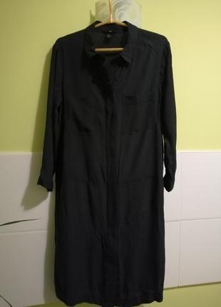 Платье рубашка из вискозы h&m