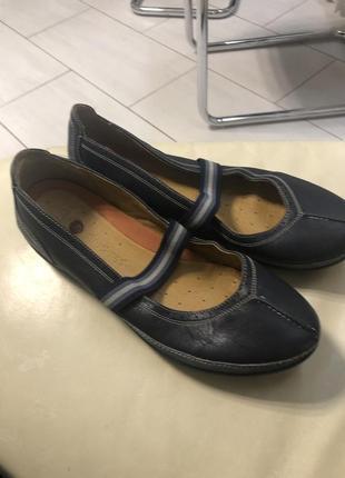 Хорошие туфли clark's р 42-43
