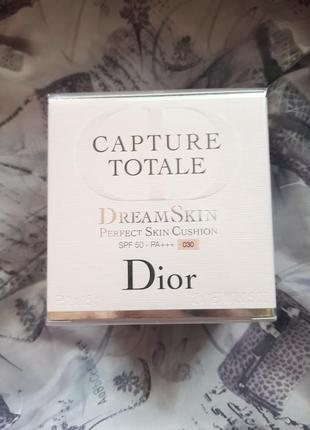 Тональный кушон диор christian dior capture totale dream skin perfect skin cushion spf 50