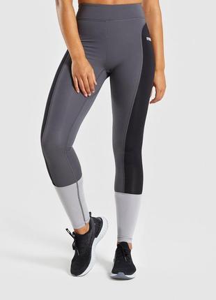 Спортивные леггинсы/лосины illusion legging gymshark, xs-l размер