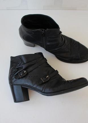 Распродажа!!! кожаные ботинки ботильоны sfratelita calsolarirecnati