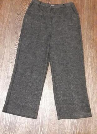 Zara basic  брюки  тёплые   широкие