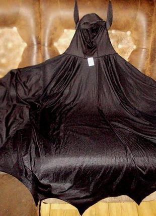 Маскарадная накидка бэтмена темного рыцаря на рост 152 см