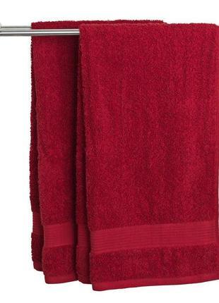 Красное полотенце 50x100