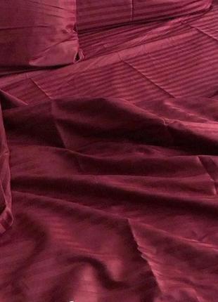Комплект постельного белья страйп сатин