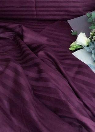 Комплект постельного белья, страйп сатин, комплект постільної білизни