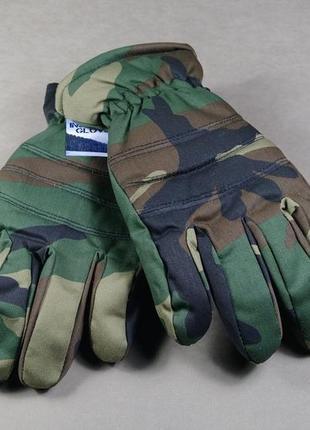 Перчатки утепленные insulated hunting gloves камуфляжного цвета