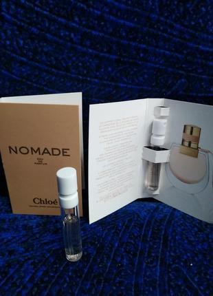 Chloe nomade духи оригинал, хлое номад, пробник, парфюмированная вода, парфуми