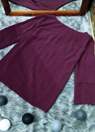 Блуза кофточка топ прямого кроя из крепа с круглым вырезом dorothy perkins