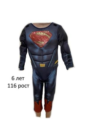 Карнавальный маскарадный  костюм супермен супермена