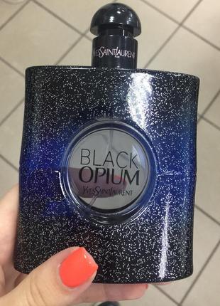 Оригинал ysl black opium intense блэк опиум духи парфюм