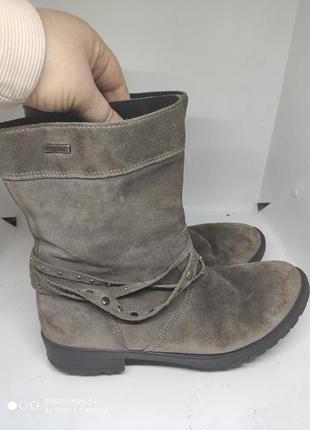 Замшевые термо ботинки 41 размер