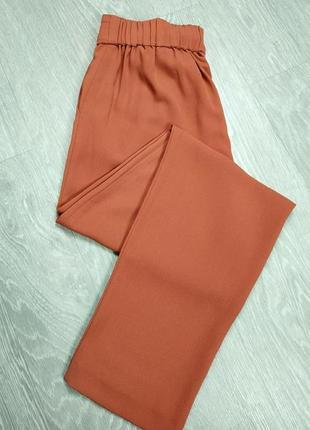 Пудровый брюки