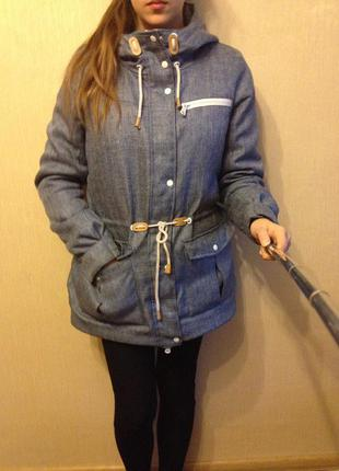 Курточка,парка,куртка croop зимняя