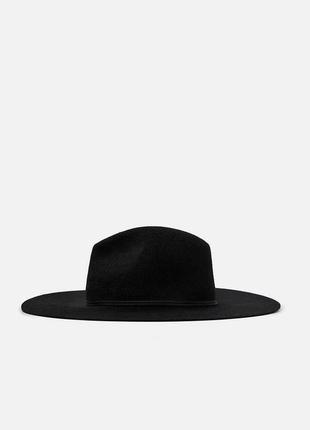 Шляпа zara wool hat