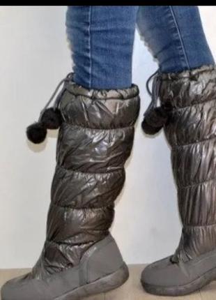 Сапоги женские новые , очень легкие на ножке