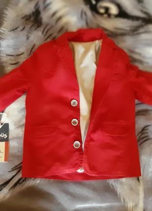 Пиджак на 1-2 года