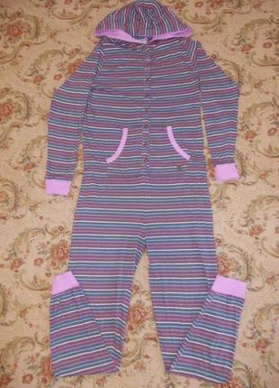 Пижама слип кигуруми комбинезон размер м