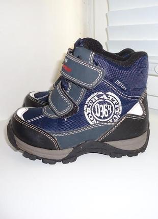 Cortina! суперские термо-ботиночки с мембраной deltex. размер 24.
