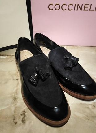 Туфли лоферы clarks