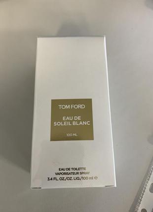 Туалетная вода tom ford eau de soleil blank