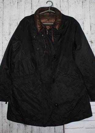 Актуальная куртка пуховик+тренч от fuchs & schmitt