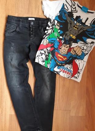 Крутые джинсы скини на мальчика